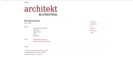 Architekt Blumenthal